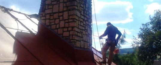 Střecha, Benešov: Oprava a nátěr