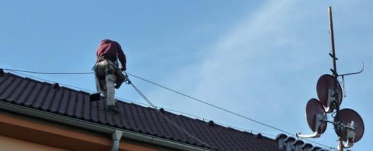 Kamerový systém, Praha: Montáž kabeláže