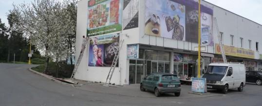 Reklamní bannery, Praha: Demontáž a montáž