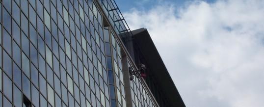 Hotel Hilton,Praha: Mytí oken