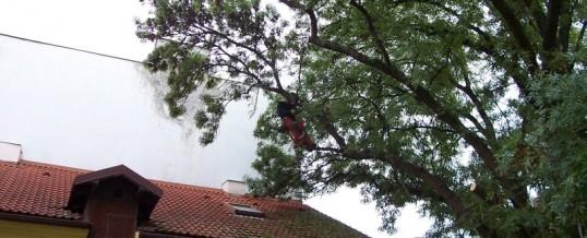 Jasan, Praha: Bezpečnostní řez, bezpečnostmí vazba