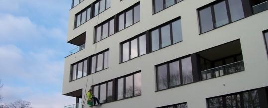 BD Na Korábě, Praha: Mytí oken
